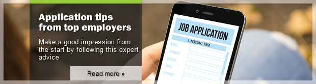Application tips from top employers