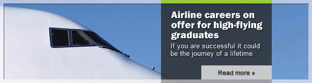 Image: Airline careers on offer for high-flying graduates