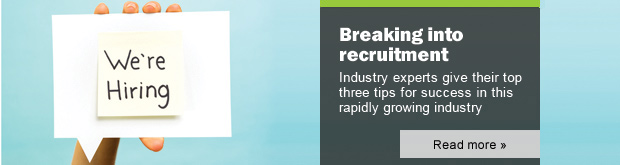 Image: Breaking into recruitment