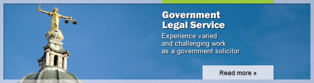 Experience varied and challenging work as a government solicitor