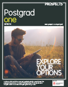 Cover image: Prospects Postgraduate magazine