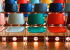 Photo: Colourful chairs