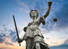 Photo: Statue of Lady Justice