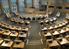 Photo: Scottish Parliament debating chambers